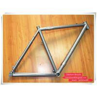 Hot sell Customized 650B mountain titanium bike frame with couple
