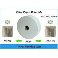 Heat seal tea bag filter paper packaging materials for packing machine