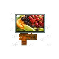 7.0-inch TFT LCD Module with 800RGB x 480P Resolution, 24 RGB Interface and LED Backlight