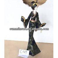 Fresh Kimono Japanese girl fashion 2014 beauty sexy girl figurine resin ornament thumbnail image