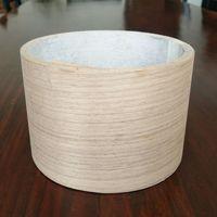 Walnut Profile Wrapping Veneer Walnut Veneer Rolls for Mouldings in Door and Window Industries