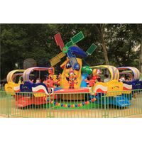 Yehua Amusement Equipment Park Land Play Children Park Play Yehua Windmill Kingdom