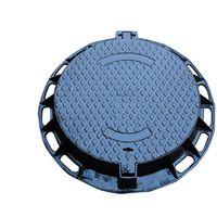 Ductile iron cast manhole cover thumbnail image