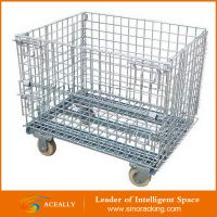 warehouse heavy duty metal storage cage