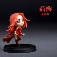 Customized action figure toys DOTA Lina