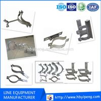 Pull Cable Hoop/Hot Dip Galvanized Anchor Ear/Cable Accessory Suspension Wire Hoop