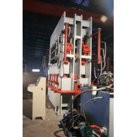 Short cycle laminating press