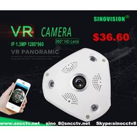 360°panorama fisheye WIFI camera