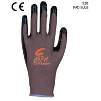 nylon knit liner nitrile safety glove