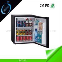 50L hotel fridge, mini refrigerator, hotel minibar