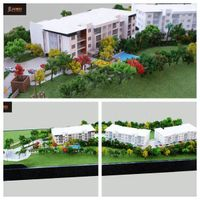 Architectural scale model,residential model thumbnail image