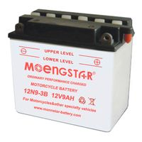 12n9-3b Ms Ordinary Performance Dry Charged Motorcycle Battery