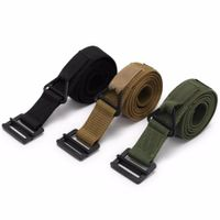 Adjustable Survival Military Tactical Belt Emergency Rescue Belt
