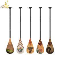 The glass fiber paddle