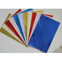 Lamination foil with paper & hamburger foil with paper