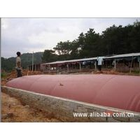 large red mud plastic Anaerobic biogas project