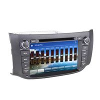 2 din in dash oem car dvd for Nissan Pulsar dvd navigation