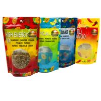 Stand up Food Packaging Plastic Zipper Pouch for Nuts