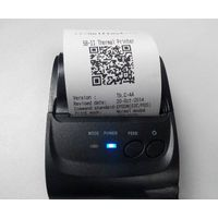 cheap pos printer 58mm bluetooth thermal portable receipt printer support android IOS system