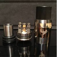 Most popular e cig mod vapor tank dark hose rda in hot selling