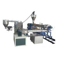 PP PE PET Water Cooling Strands Pelletizing Granules Plastic Extruder Production Line thumbnail image