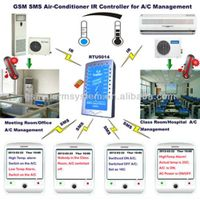 GSM SMS Air-Conditioner IR Controller and alarm