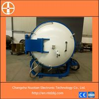 Vacuum dewaxing and degreasing sintering furnace
