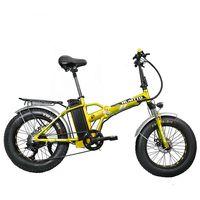500W Electric High Speed Folding Mountain Bicycle 204.0 Inch Ebike Big Fat Tire Electric Bike