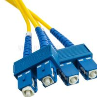 SC/PC to SC/PC Duplex SM Patch Cord