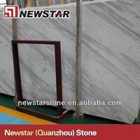 Polished volakas marble flooring tiles