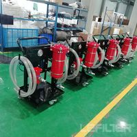 LYC Movable Lubricant /Turbine/Transformer Oil Pufier Filter Units Machine thumbnail image