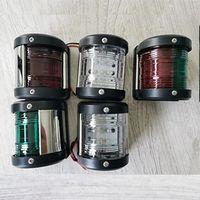 IP67 12V DC Watertight LED Marine Plastic Navigation Signal Light For Yacht