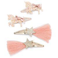 Adventure Wear by Beautygirl Key 4-Pack Hair Clips