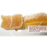 crystallized ginger and candied ginger from origin Weihai, China