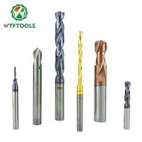 Changzhou WTFTOOLS Tungsten Solid Carbide Twist Drill Bits for metal drilling