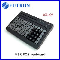 usb programmable card swipe keyboard, magstripe reader keyboard