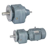 Parallel shaft Helical Motor Gearbox Coaxial Helical Gearbox with inline motor for converter / mixer