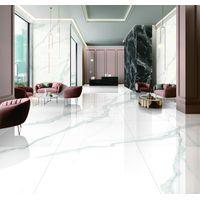 EQ189P065 Calacatta super white marble big slab High Quality 900x1800mm thumbnail image