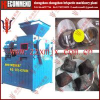 Latest technology coking coal briquette machine-Zhongzhou 4t/h