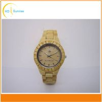 New Arrival Mens Luxury Custom Logo Bamboo Wooden Watches thumbnail image