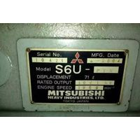 Marine diesel engine set MITSUBISHI S6U-PTK thumbnail image