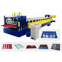 828 Tile Roof Roll Forming Machine