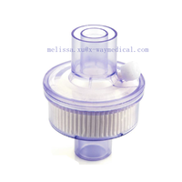 Medical HME filter, breathable Bacterial oxygen filter for tracheal respiratory therapy