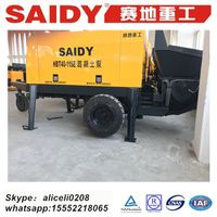 electric motor concrete pump