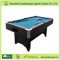 Auto system ball return pool table/billiard table