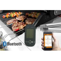 Bluetooth Controlled BBQ Thermometer with Four Probes thumbnail image