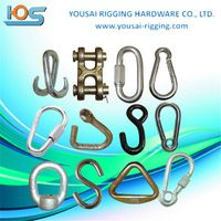 other rigging hardware, snap hook,stainless steel AISI304 or 316 DIN5299 stainless steel snap hook ,