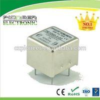 PE1000-3-02 3A 120/250VAC PCB emc noise electrical filter thumbnail image