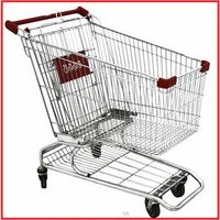 240L used supermarket American style shopping cart thumbnail image