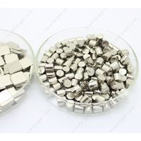High purity 99.95% W granules tungsten metal pellets